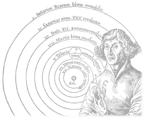 Nicolaus Copernicus Model Of The Solar System (the geocentric model, in
