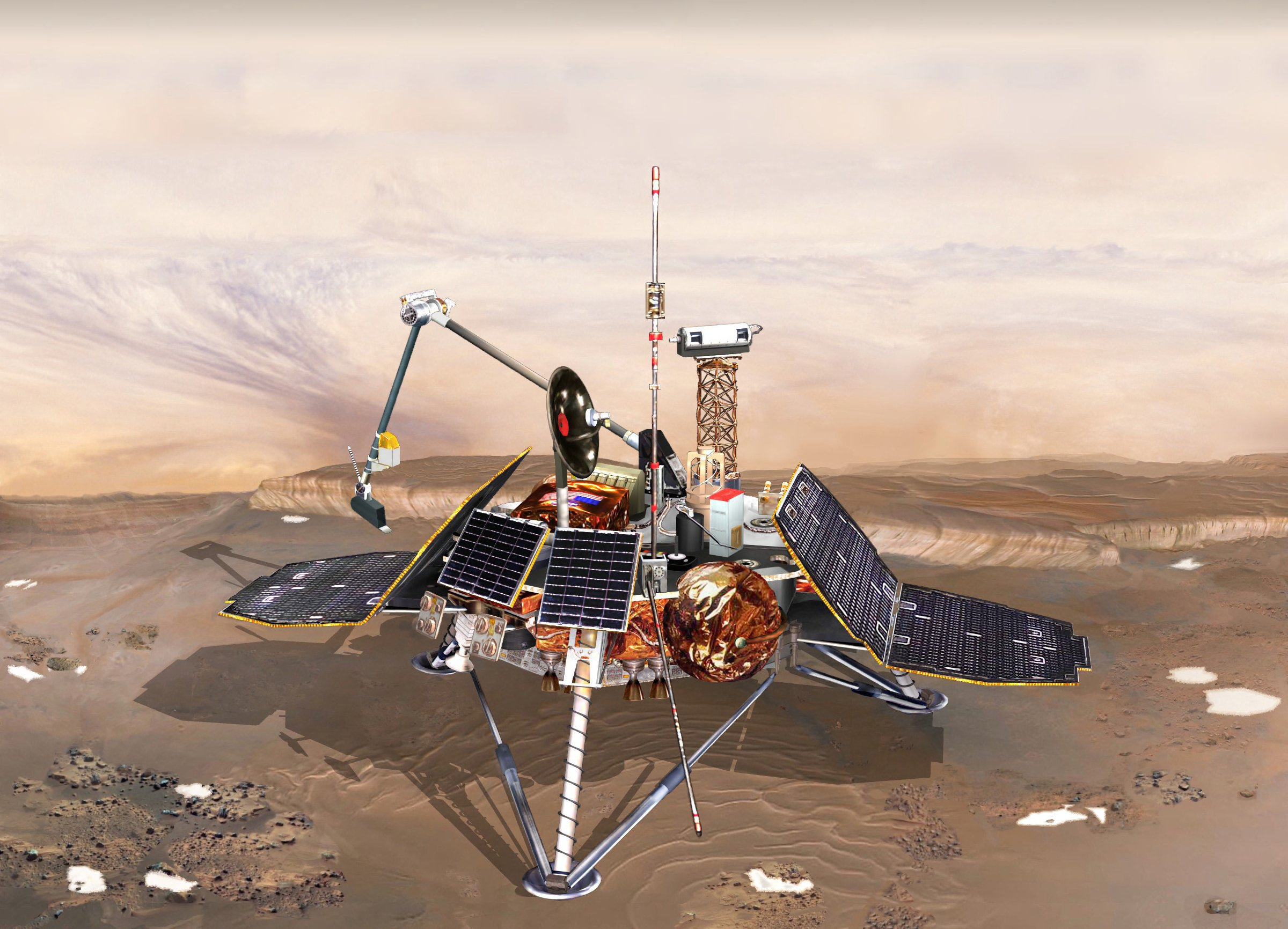mars landing spacecraft - photo #20