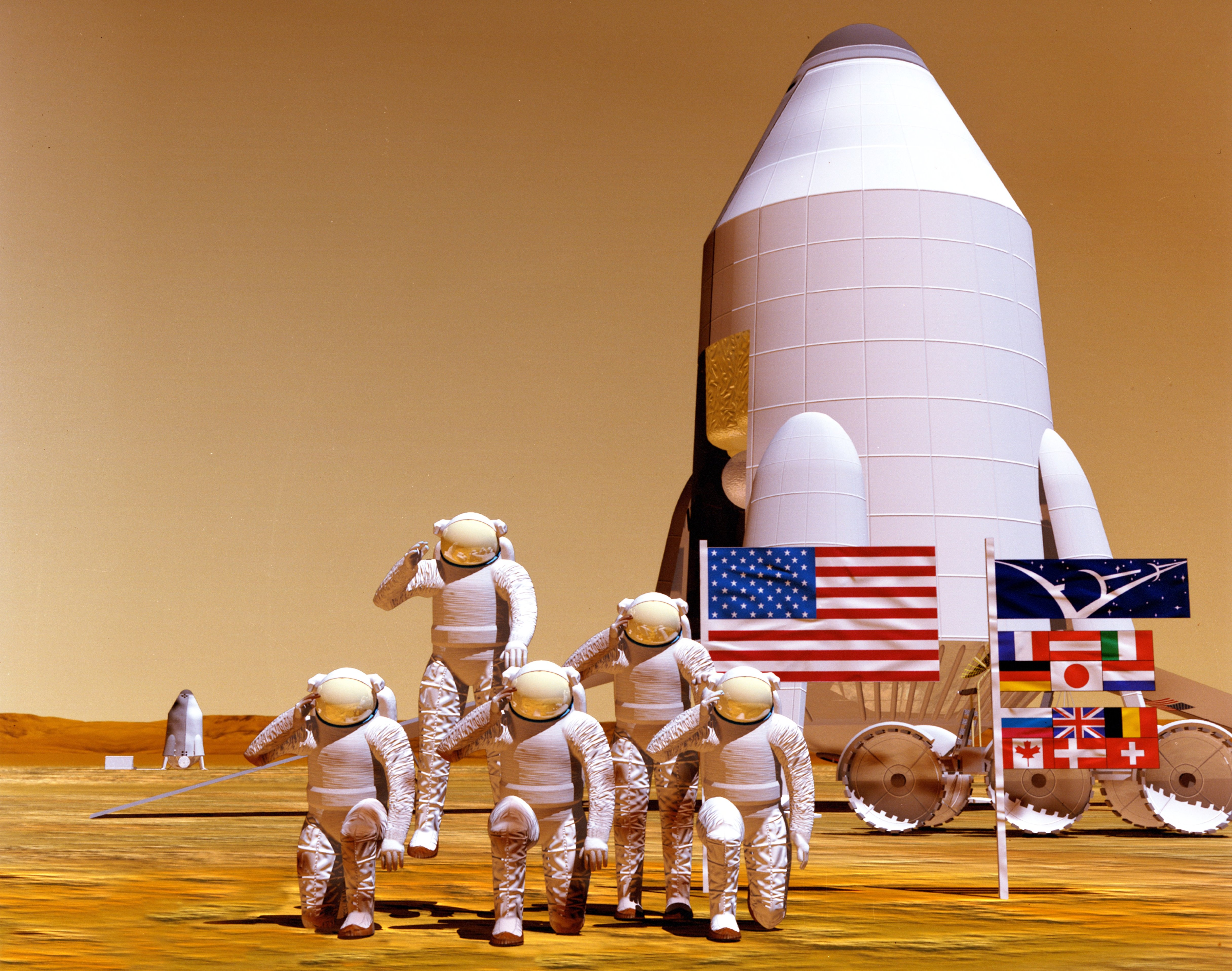 first manned mission to mars - photo #29